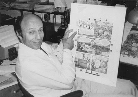 kurtzman e una pagina del suo Little Annie Fanny per Playboy
