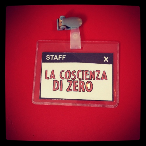 """Mostra """"La coscienza di Zero"""" al Wow Spazio fumetto, pass staff"""